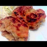 Картошка/Зразы / baked potato-zrazy