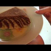 Мраморный кекс в мультиварке